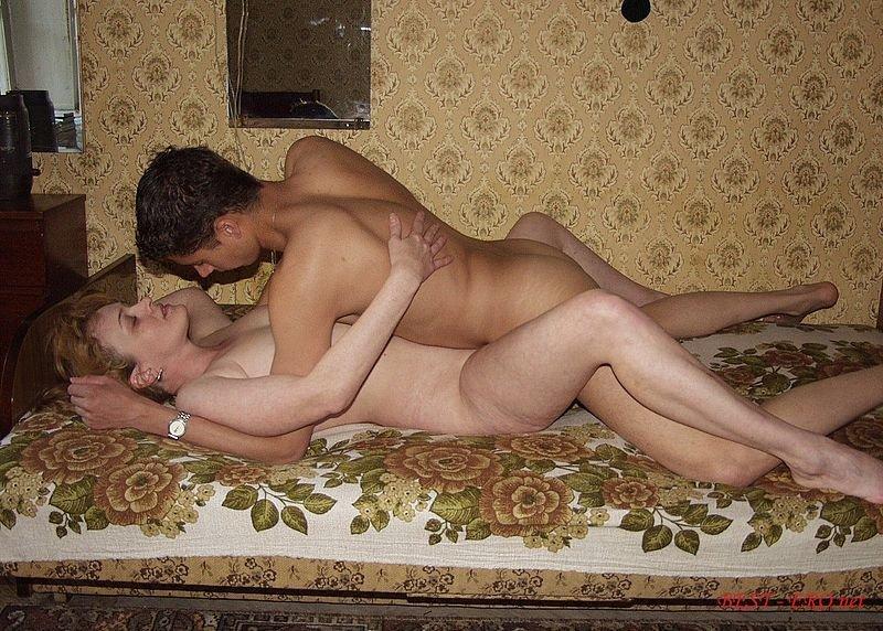 Тетка секс с племянником