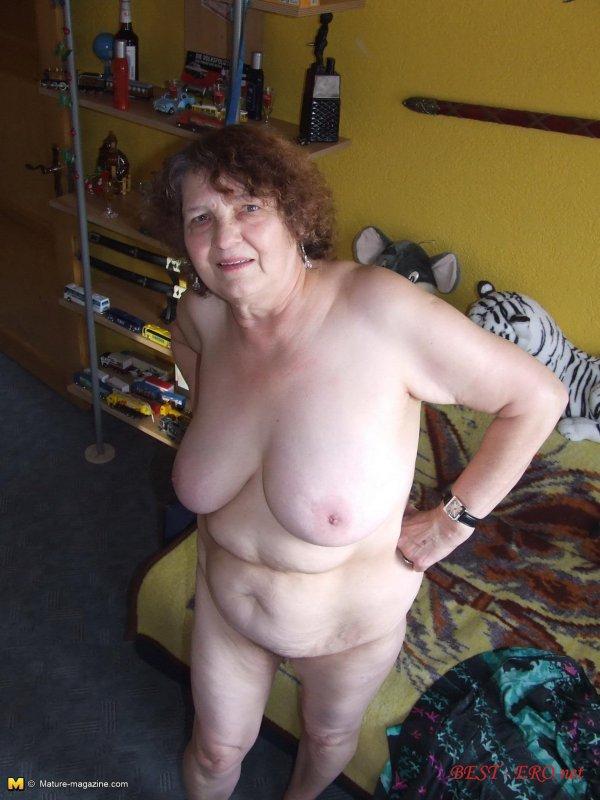 Любительское фото голых бабушек