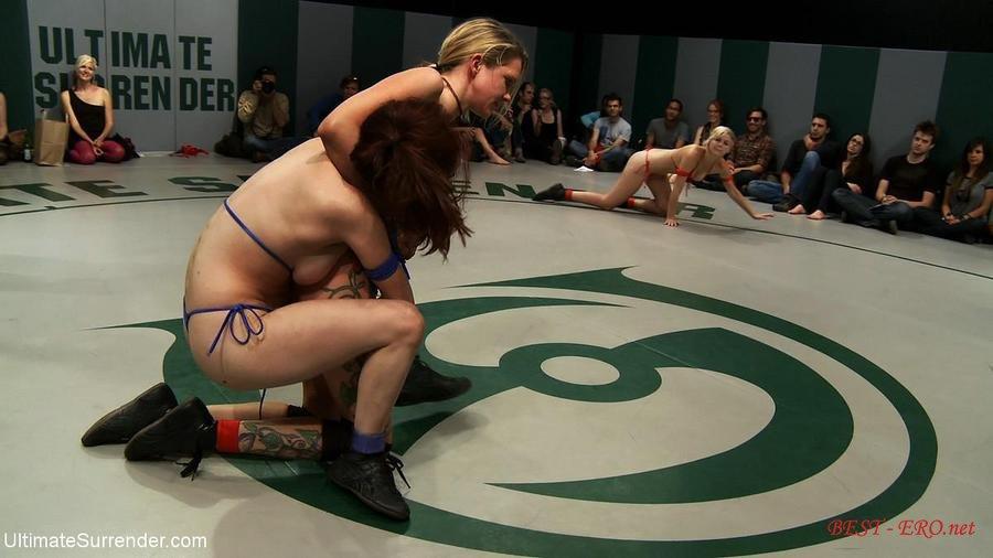 Секс на арене дерутся лезбиянки видео