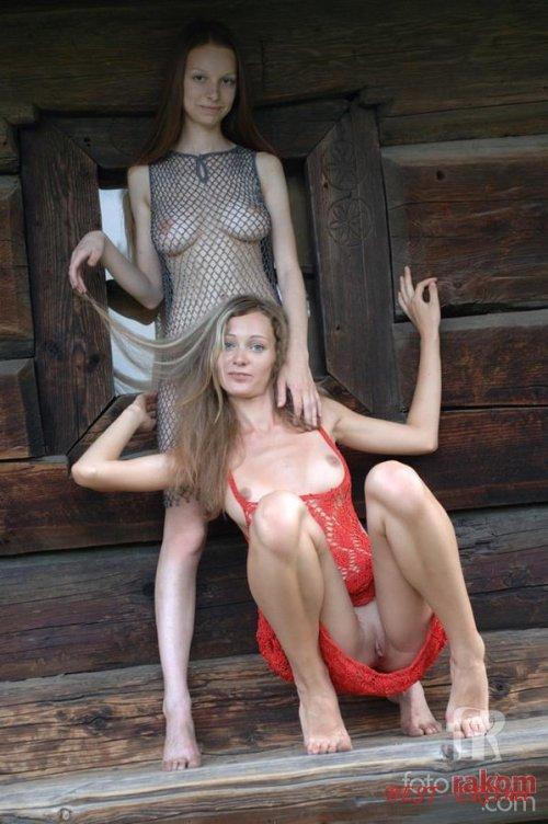 Русские девушки порно в деревне 8 фотография
