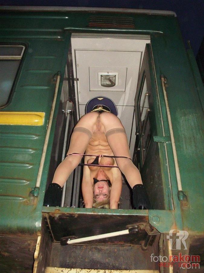 Порно фото голых проводниц