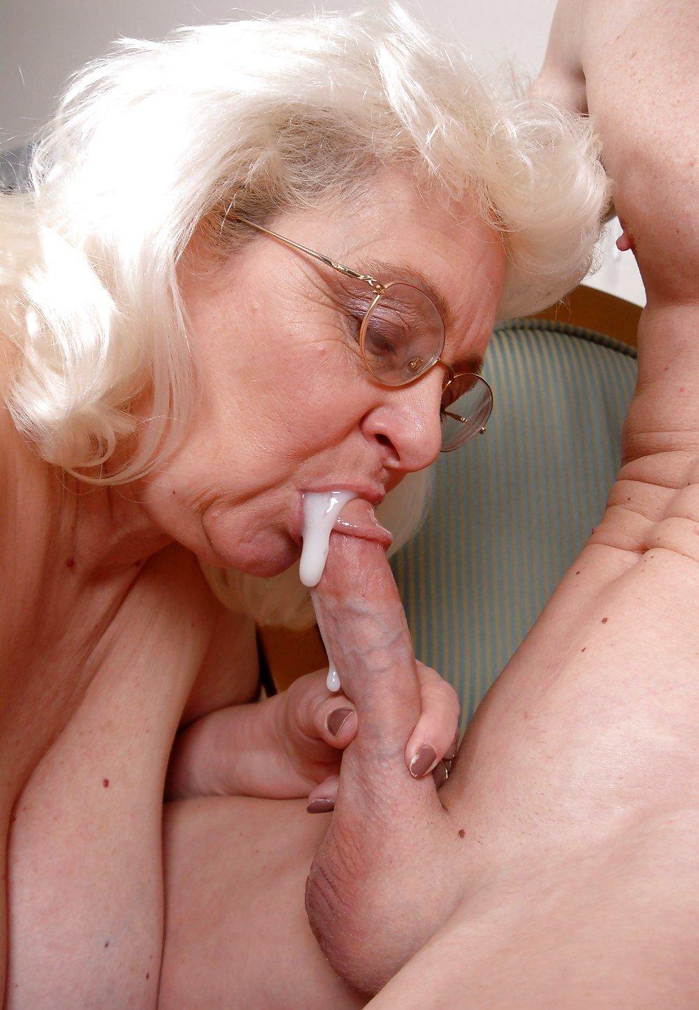 фото старых женщин в мужской сперме