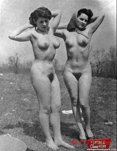 Черно белые ретро фото голых женщин 37484 фотография