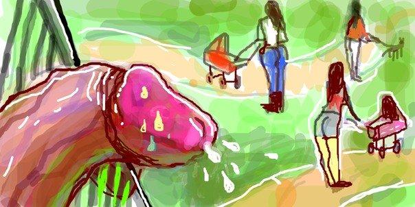 Эротические рисунки члена фото 655-162